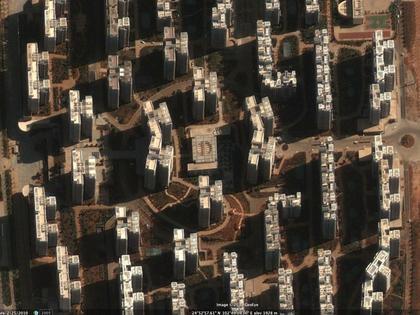 """Малая часть пустующего """"жилого фонда"""" города Чэнгун, составляющего 100 000 квартир. Фото World Bank"""
