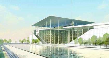 Культурный центр Фонда Ставроса Ниархоса. Окончательный проект (с) Stavros Niarchos Foundation