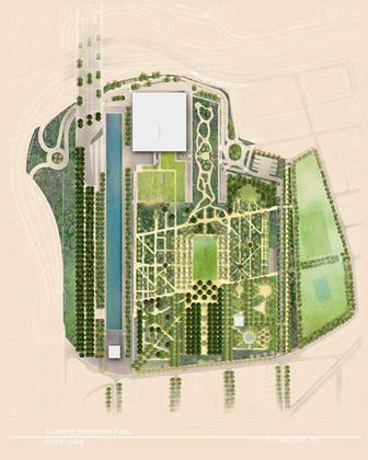 Культурный центр Фонда Ставроса Ниархоса. Окончательный проект (с) Renzo Piano Building Workshop