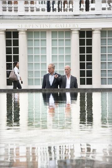 Летний павильон галереи Серпентайн 2012. Пьер де Мерон и Жак Херцог. Фото © Paul Grover