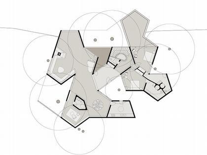 Деревне будинок план другого рівня