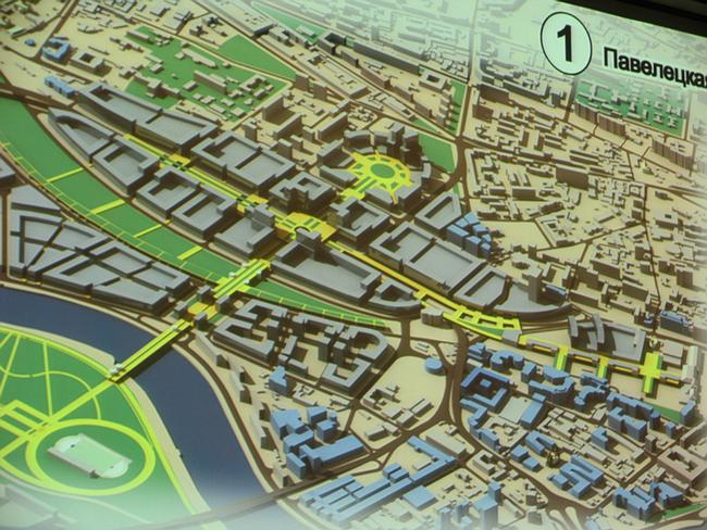Проект развития Павелецкой