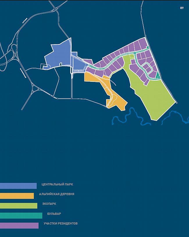 Схема благоустройства и озеленения территории.