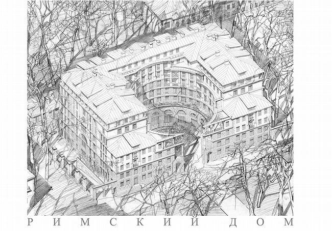 аксонометрия в архитектуре.