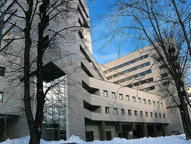 ...больницы им. С.П.Боткина, входят: общебольничные службы и... Рис. 6. Новый лечебно-диагностический корпус на...
