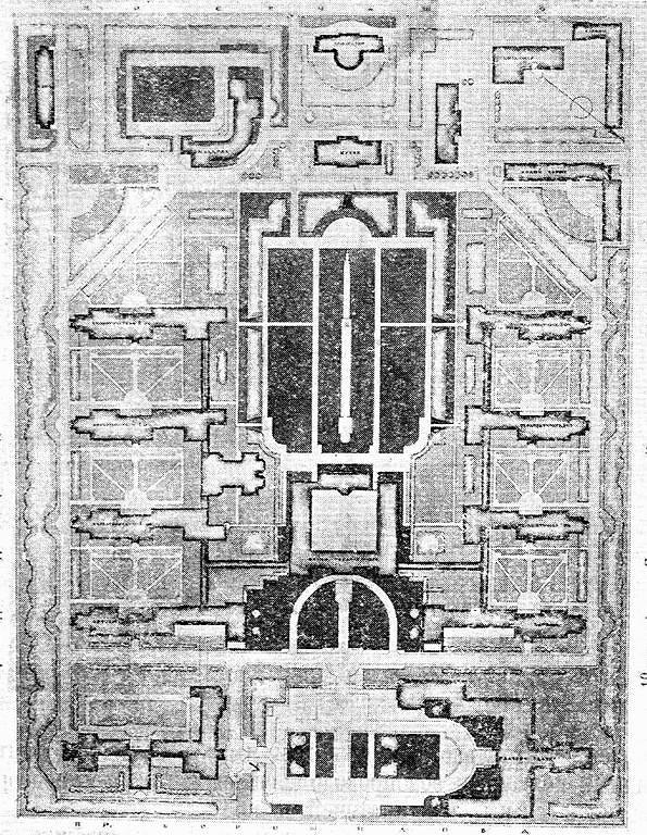 семашко схема расположения корпусов