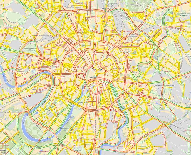 Мегаполис: люди, автомобили