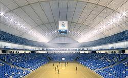 Малая арена. Интерьер