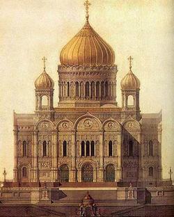 Храм Христа Спасителя - памятник Победы в Отечественной войне 1812 года.