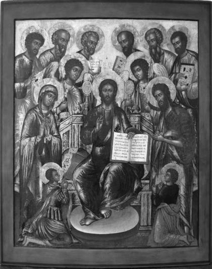 «Деисус с избранными святыми»
