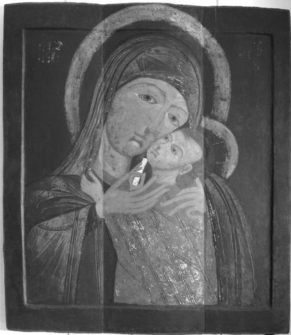 Икона первой трети XVII века из частного собрания