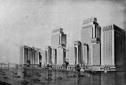 Города Америки в архитектурном соревновании 1920-30-х гг.