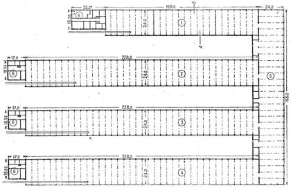 Схема заводского цеха