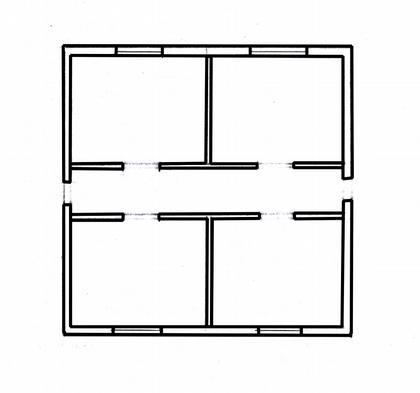 Рис. 4. Планировочная схема здания.