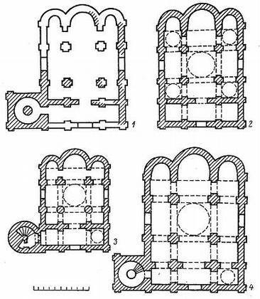 Зодчество Древней Руси. Сложение архитектурных школ (XII в.)