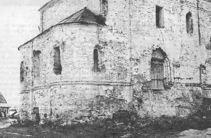 Прямоугольный вертикальный памятник Перемышль Мемориальный комплекс с арками и колонной Воробьевы горы