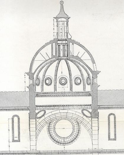 Разрез купола церкви Сан