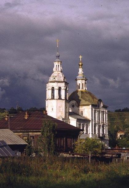 Тобольск. Церковь Михаила Архангела.1745-1749. фото: Л. Масиель-Санчес